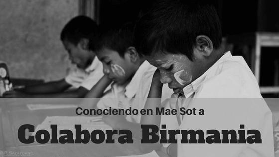 Conociendo Colabora Birmania