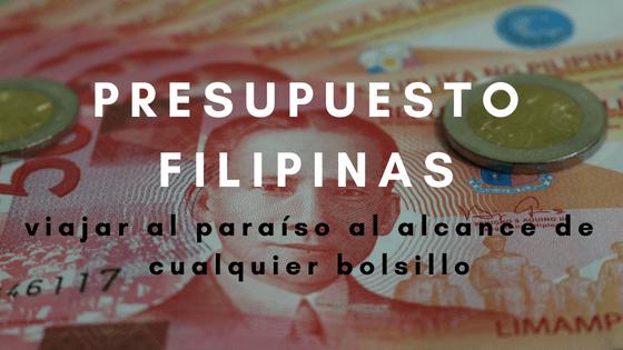 Presupuesto para viajar a Filipinas