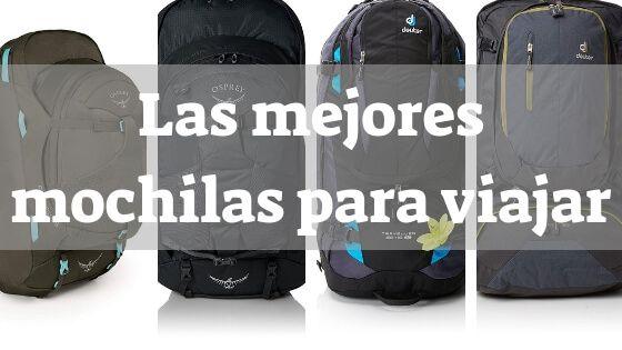 ranking de las mejores mochilas para viajar